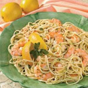 Garlic Shrimp Spaghetti Recipe