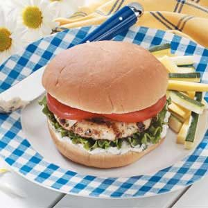 Basil Turkey Burgers Recipe