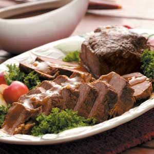 Tender Bavarian Pot Roast Recipe