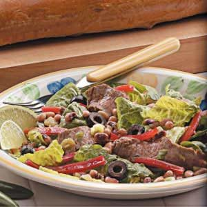 Beef 'N' Black-Eyed Pea Salad Recipe