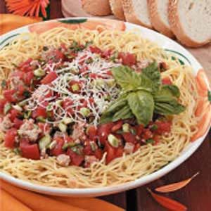 Turkey-Tomato Pasta Sauce Recipe