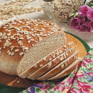 Maple Oat Bread Recipe | Taste of Home