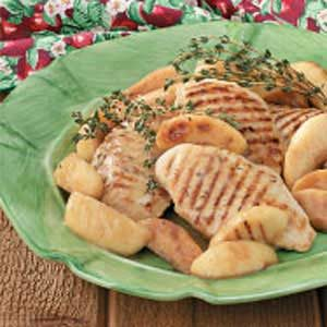Apple Thyme Chicken Recipe