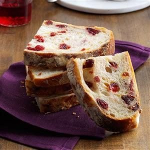 Rustic Cranberry & Orange Bread Recipe