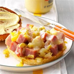 Pineapple-Dijon Ham Sandwiches Recipe