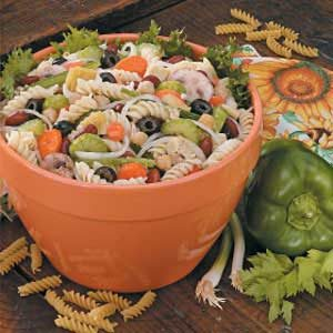 Pasta Salad Plus Recipe
