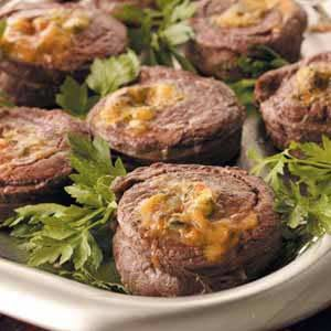 Steak Pinwheels Recipe