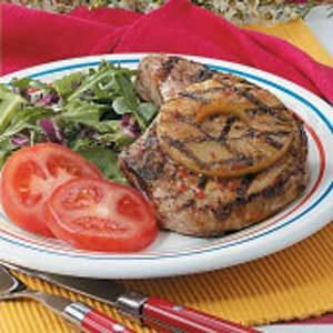 Grilled Pineapple Pork Chops Recipe