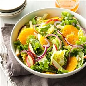 Mixed Greens with Orange-Ginger Vinaigrette