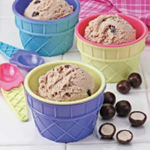 Chocolate Malted Ice Cream Recipe