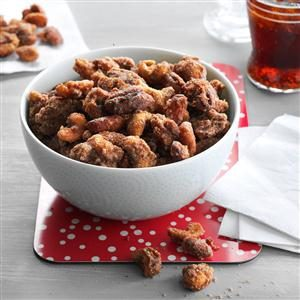 Slow Cooker Spiced Mixed Nuts
