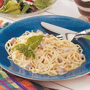 Angel Hair Alfredo Recipe