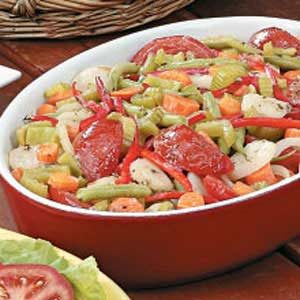 Mixed Vegetable Casserole Recipe