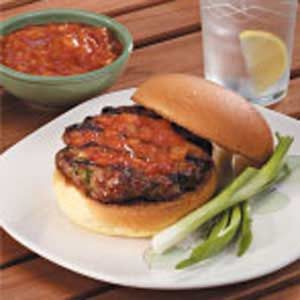Asian Pork Burgers Recipe