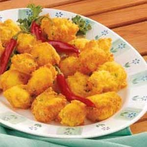 Spicy Hush Puppies Recipe
