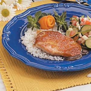 Orange-Glazed Pork Chops Recipe