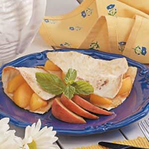 Tortilla Fruit Pie Recipe