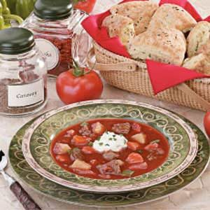 Beef Goulash Soup Recipe