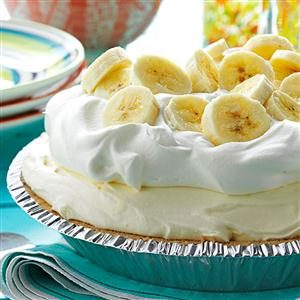 Old-Fashioned Banana Cream Pie Recipe