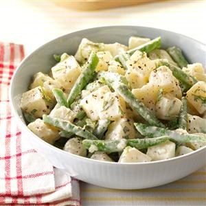 Potato-Bean Salad with Herb Dressing