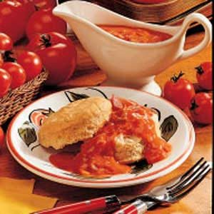 Old-Fashioned Tomato Gravy Recipe