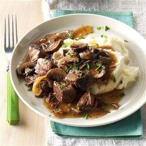 Slow Cooker Beef Tips Recipe