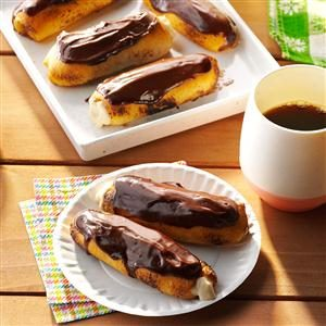 Eclairs on the Grill Recipe
