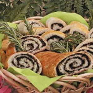 Olive Pinwheel Bread Recipe