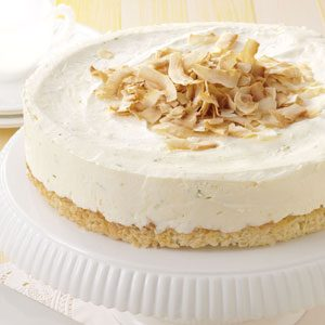 Lime Coconut Cheesecake Recipe