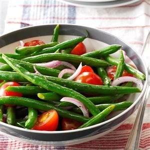 Green Bean-Cherry Tomato Salad Recipe