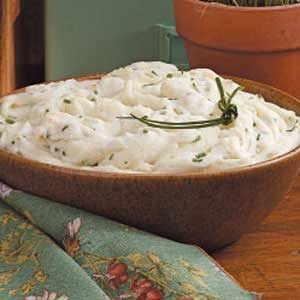 Creamy Chive Mashed Potatoes Recipe