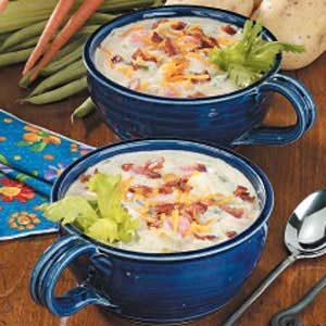 Country Potato Chowder Recipe
