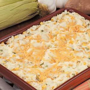 Corny Garlic Mashed Potatoes Recipe