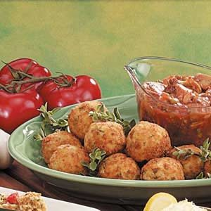 Rice Balls with Meat Sauce Recipe