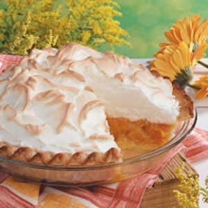 Apricot Meringue Pie Recipe