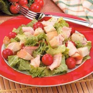 Grilled Salmon Caesar Salad Recipe