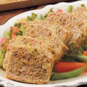 Turkey Meat Loaf for Two Recipe