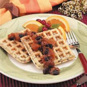 Wild Rice Pecan Waffles Recipe