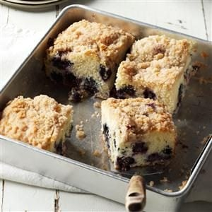 Down East Blueberry Buckle