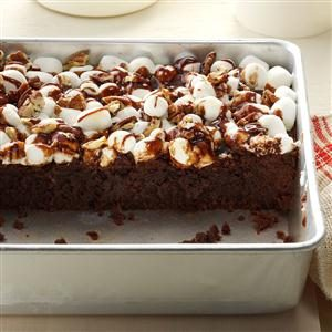Awesome Rocky Road Brownies