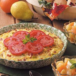 Denver Omelet Pie Recipe