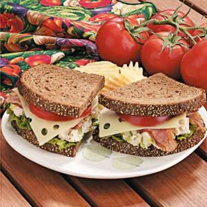 Chicken Salad Clubs Recipe