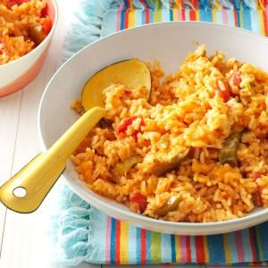 Salsa Rice Recipe