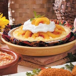 Coconut Peach Pie Recipe