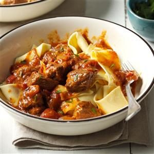 Beef Paprikash with Fire-Roasted Tomatoes