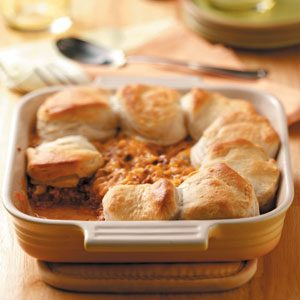 Cheeseburger Biscuit Bake Recipe