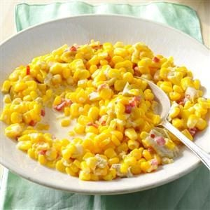 Green Chili Creamed Corn Recipe