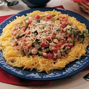 Spaghetti Squash Supper Recipe