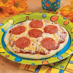 Personal Pepperoni Pizza Recipe