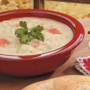 Parmesan Corn Chowder Recipe